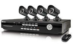 DVR CCTV system with cameras